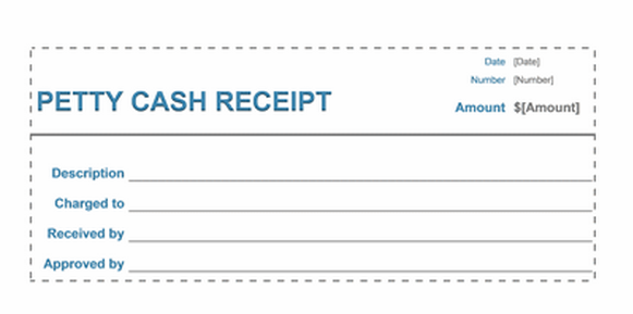 Cash Receipt Template  How To Write A Receipt For Rent
