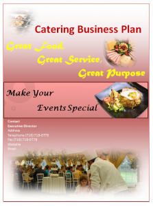 Catering Plan Template