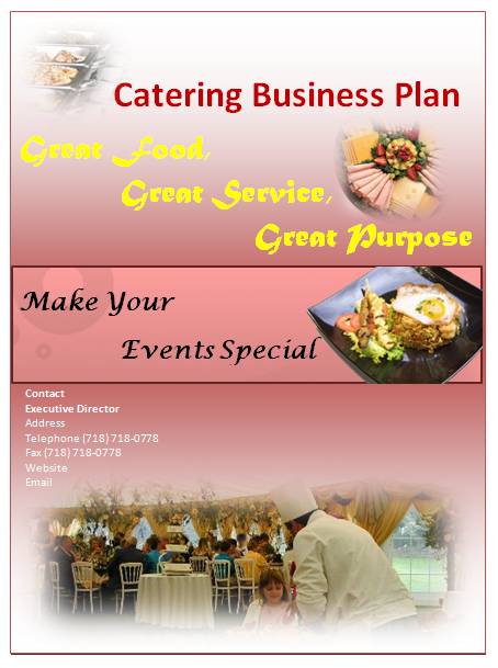 Catering Plan Template – Catering Quote Template