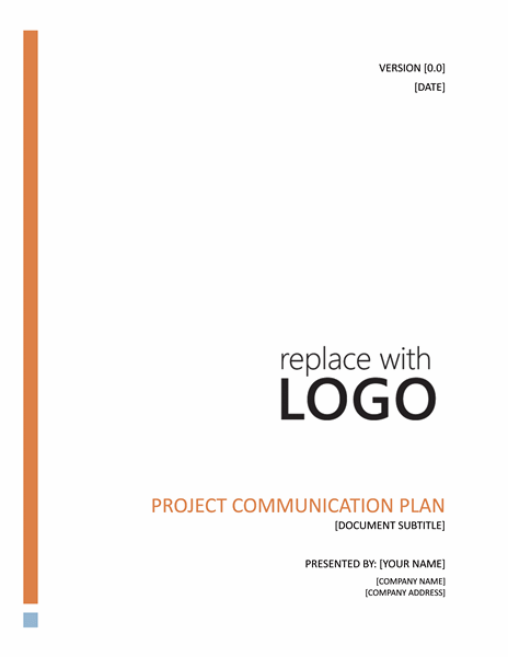Project Plan Template – Word Project Proposal Template