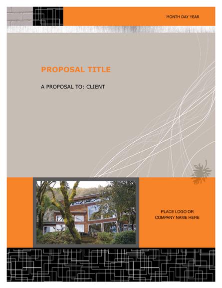 Proposal Templates – Ms Word Proposal Template