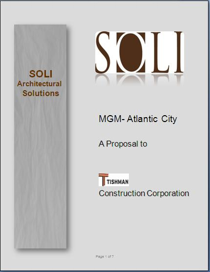 construction bid proposal samples