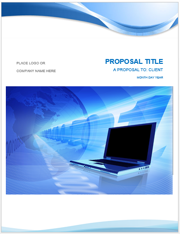 Superior IT Proposal Template  Proposal Template Microsoft Word