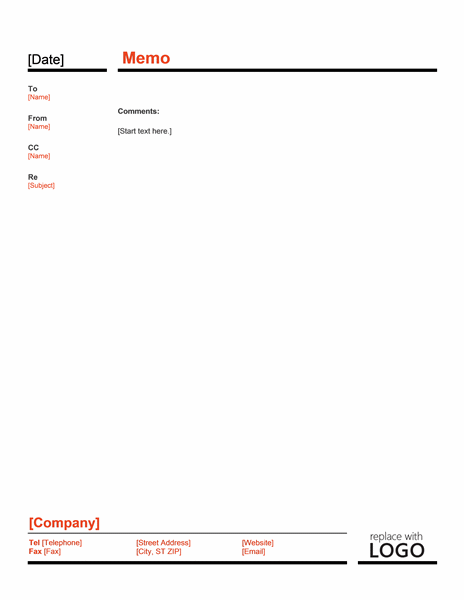 Interoffice Memo Template – Sample of Interoffice Memo