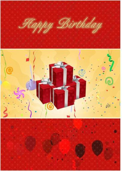 Birthday Card Template  Birthday Wishes Templates Word