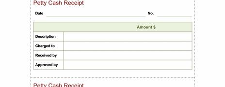 cash receipt template word .