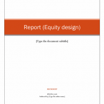 Company Analysis Report Template