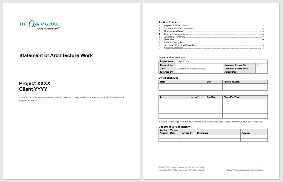 Statement of Work Template 03