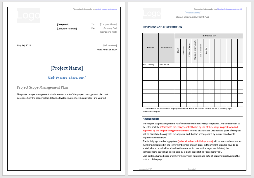 Statement of Work Template 05