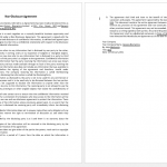 Confidentiality Contract Template