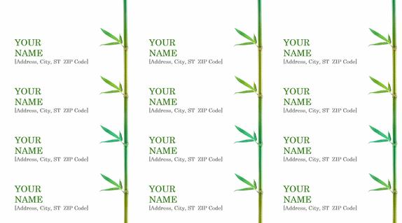 Sample Address Label Archives - Microsoft Word Templates