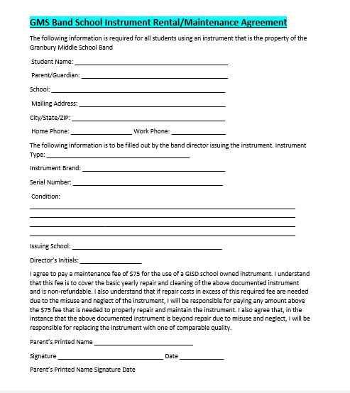 Maintenance Agreement Template 10