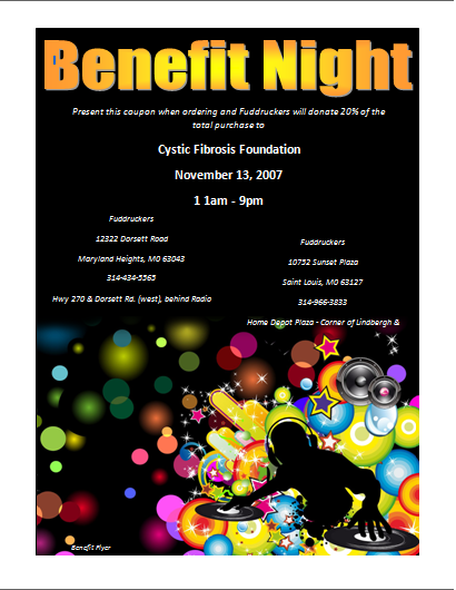 Here is preview of this Benefit Flyer Template created using Microsoft