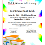 Book Club Flyer Template