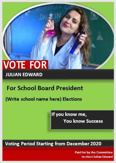 Campaign Poster Template 04