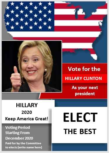 Campaign Poster Template 07