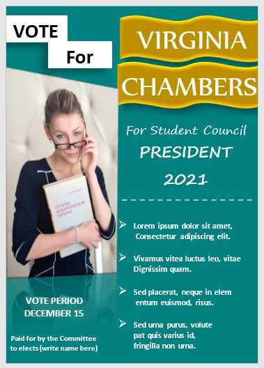 Campaign Poster Template 09