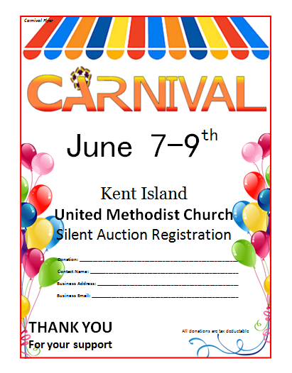 Microsoft Word Carnival Flyer Template | Party Invitations Ideas