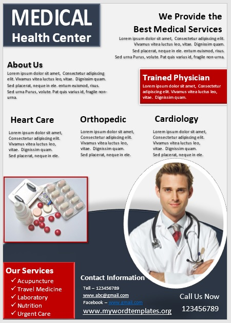 Medical Poster Template 01