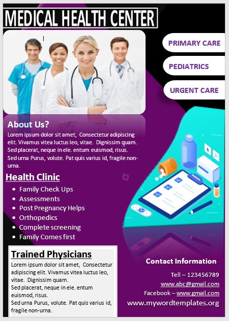 Medical Poster Template 02