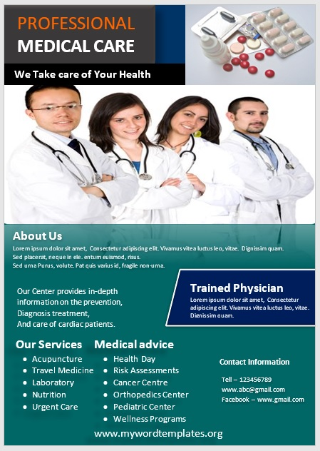 Medical Poster Template 03