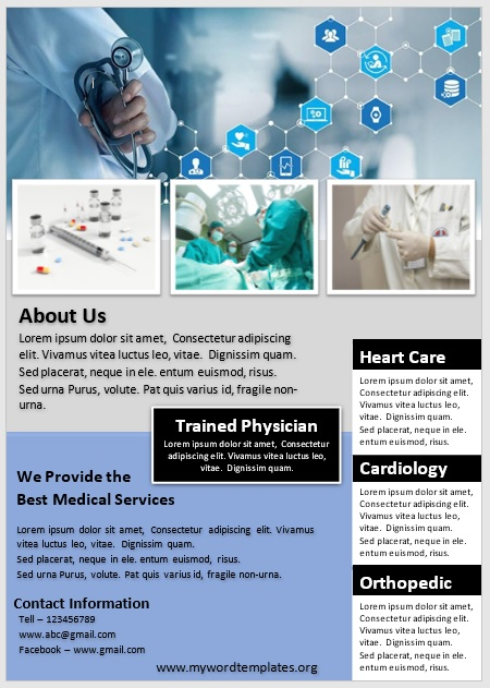 Medical Poster Template 04