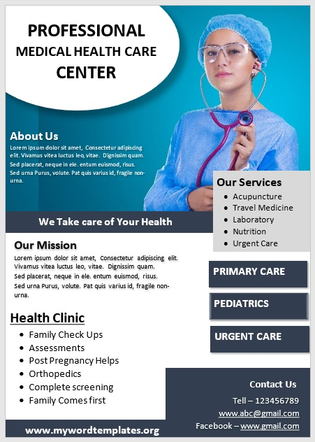 Medical Poster Template 05