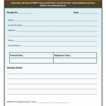 Advance Booking Receipt Template