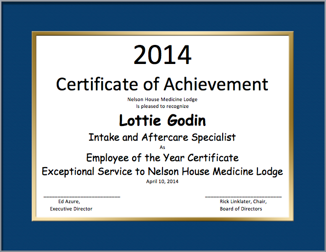High Quality Employe Of The Year Certificate Template And Best Employee Certificate Sample
