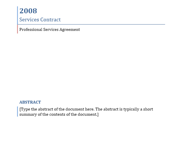 Service Agreement Template 08