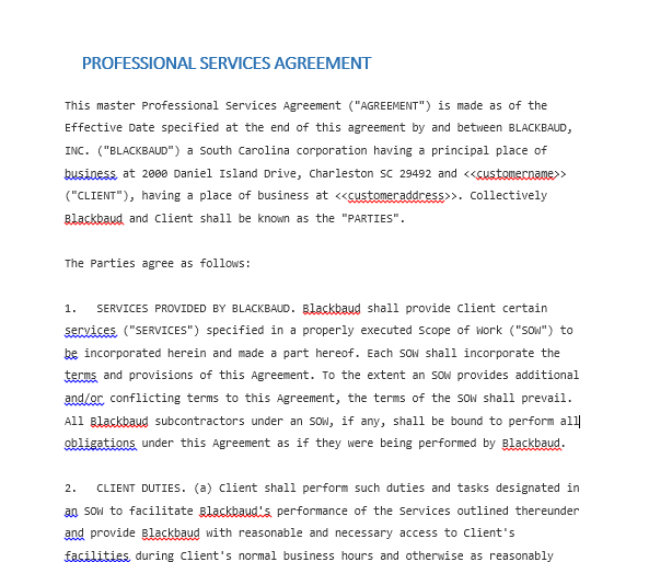 Service Agreement Template 10