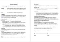 Severance Agreement Template