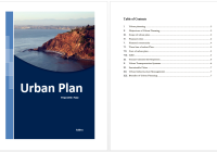 Urban Plan Template
