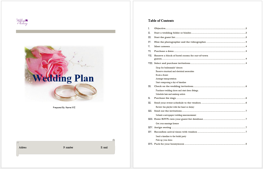 Microsoft Word Planner Template from www.mywordtemplates.org