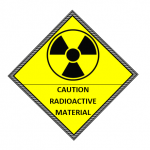 Radioactivity Caution Label Template