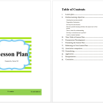 Lesson Plan Template