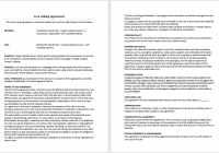 Free Linking Agreement Template  Free Agreement Template