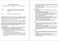 Outsourcing Services Contract Template
