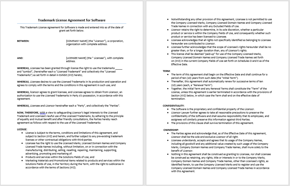 agreement templates archives microsoft word templates