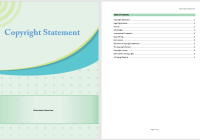 Copyright Statement Template