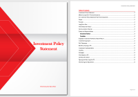 Investment Policy Statement Template