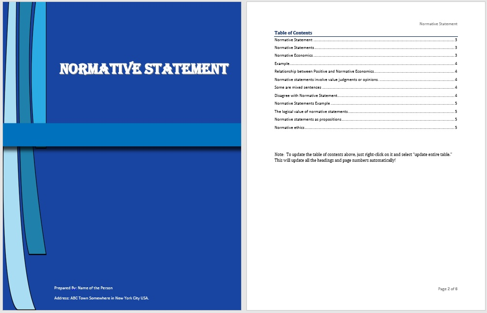 Statement Templates | Microsoft Word Templates