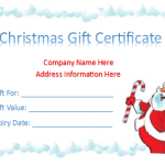Free Gift Certificate Templates – (8 Templates)