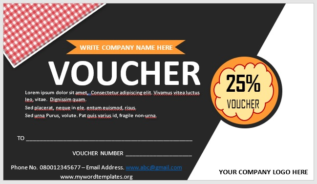 Free Gift Certificate Template 04