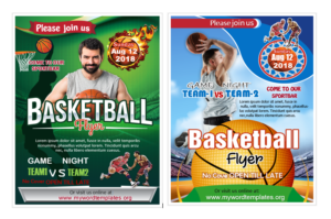 Basketball Flyer Templates
