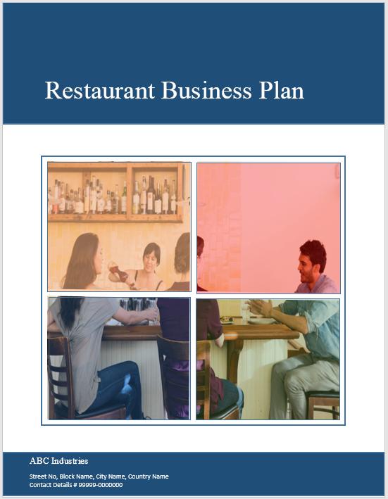 Restaurant Business Plan Template 02