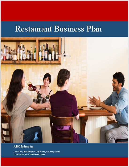Restaurant Business Plan Template 03