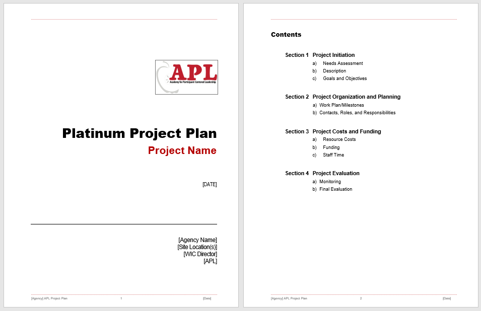 Project Plan Template 10
