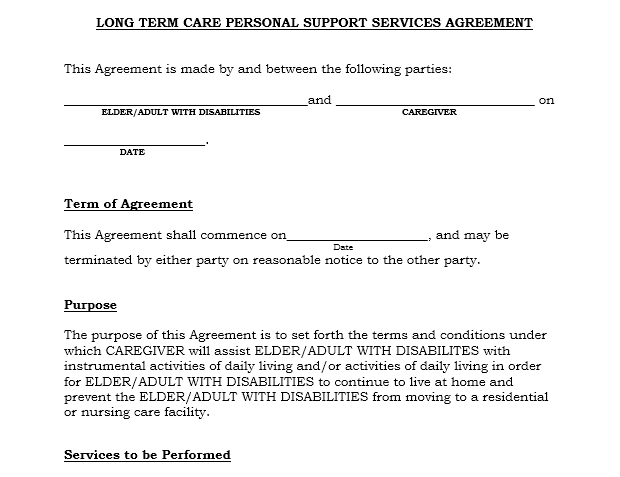 Service Agreement Template 21
