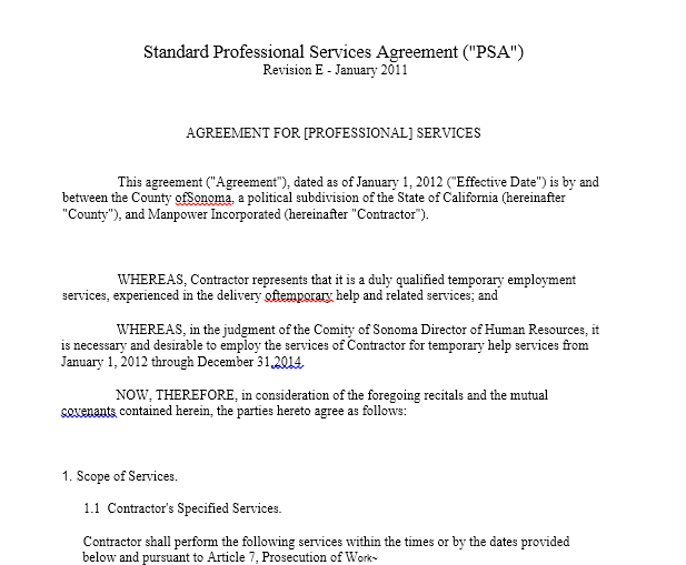 Service Agreement Template 23
